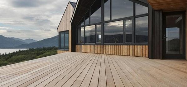 Sàn gỗ ngoại thất Accoya