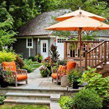 Lưu ý khi chọn mua nội thất kết hợp dù che cho sân vườn